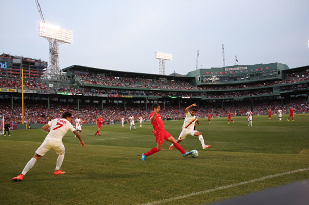 The two teams last met in Boston two years ago, Roma winning 2-1. (Picture: Getty Images)
