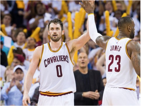 Kevin Love will be key to the Cavs in the NBA Finals (Jason Miller/Getty)