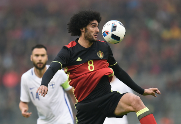 Fellaini's groin problem shouldn't keep him out of the Euros. (Picture: Getty Images)