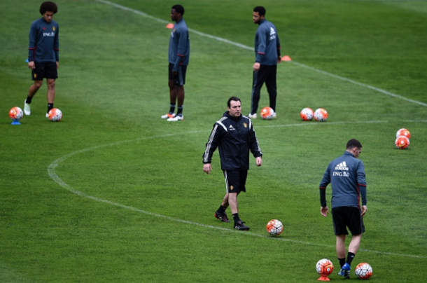 Wilmots is likely to experiment with a new defence against Norway. (Picture: Getty Images)