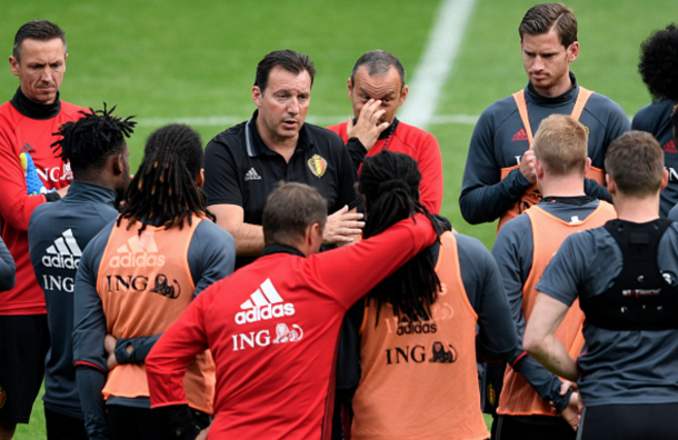 Wilmots has yet to truly get the best out of Belgium's so-called golden generation. (Picture: Getty Images)