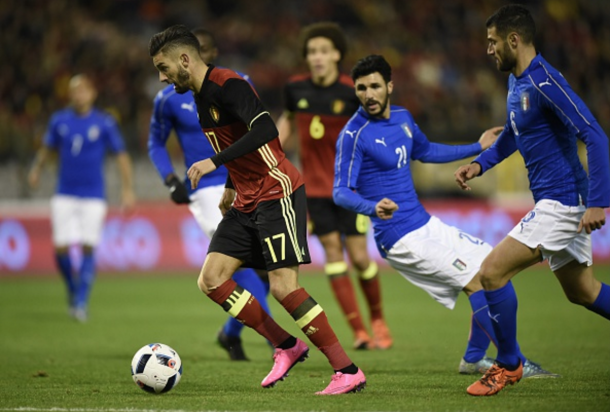 Italy and Belgium only last came head-to-head back in November. (Picture: Getty Images)
