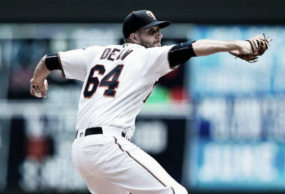 Pat Dean nearly shut down the most potent offense in the majors over 6.1 innings. | Getty