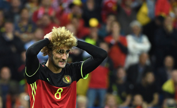 Although his inclusion had its merits, Wilmots got it wrong by starting Fellaini. (Picture: Getty Images)