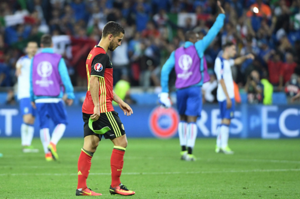 Hazard was starved of support as his teammates looked to him to inspire them. (Picture: Getty Images)