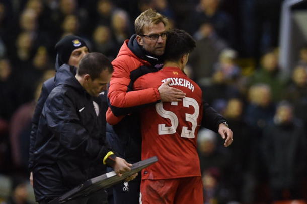 Teixeira failed to impress Klopp enough for regular minutes in his side. (Picture: Getty Images)