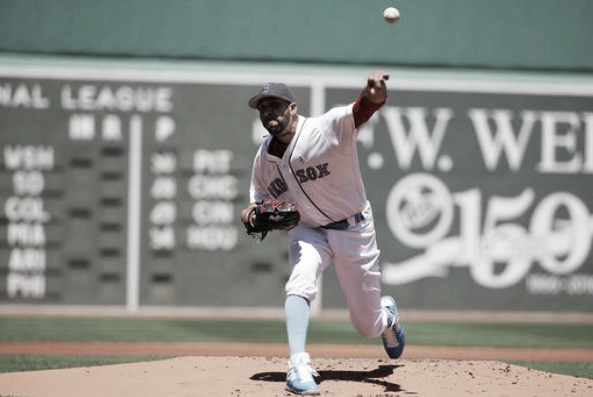 David Price improved his ERA to 4.24 with the win.   AP