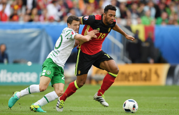 Dembele added an extra dimension to Belgium's midfield against Ireland. (Picture: Getty Images)