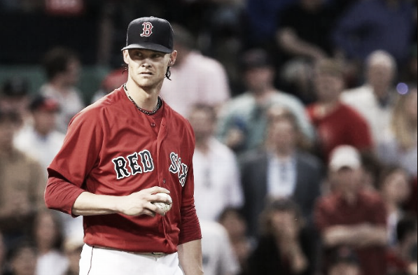 Clay Buchholz's first stint in the rotation was full of tumult.   Getty