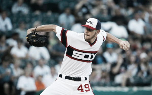 Chris Sale rebounded from a recent rough patch with a stellar win over Detroit last Wednesday.   AP