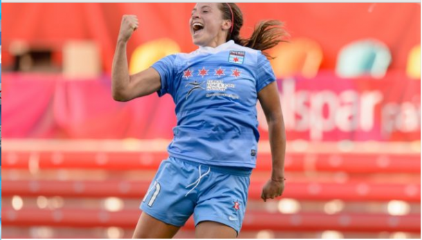 Huerta will be looking to continue her form as Chicago enters a crucial stretch in their schedule (Photo credit : Chicago Red Stars website)