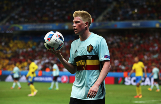 De Bruyne could prove crucial to Belgium's hopes of triumph this summer. (Picture: Getty Images)