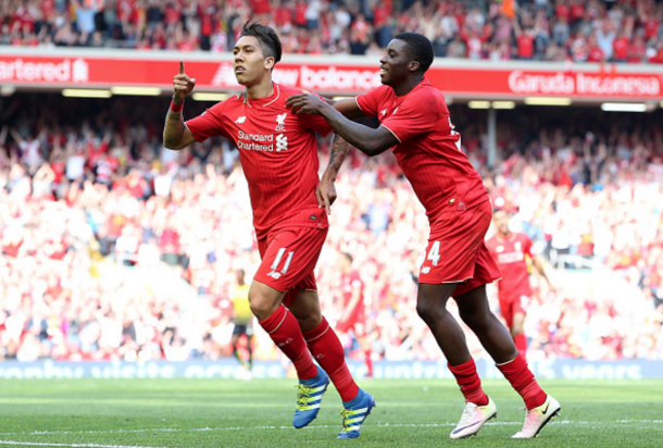 Firmino reached double figures for goals in his first 12 months on Merseyside. (Picture: Getty Images)
