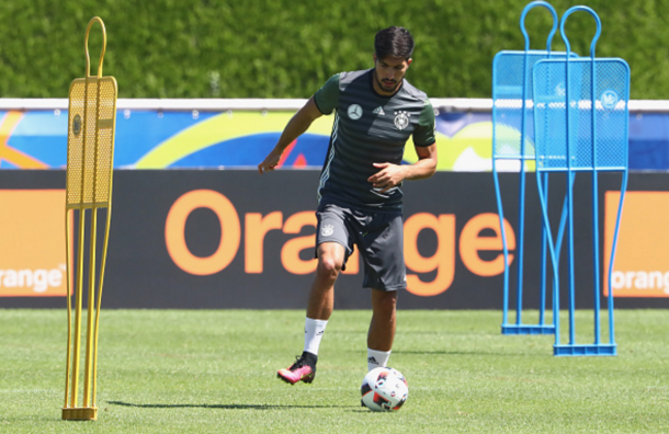 Can in training for Germany earlier in the week. (Picture: Getty Images)