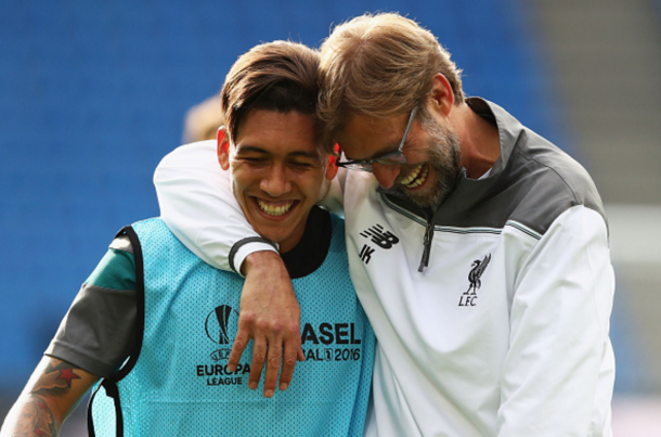 Klopp brought the best out of Firmino on Merseyside last season. [Source: Getty Images]