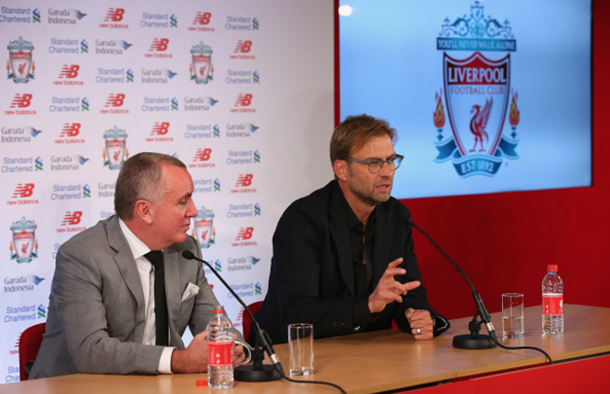 Klopp signed the deal exactly nine months to the day he joined Liverpool. (Picture: Getty Images)