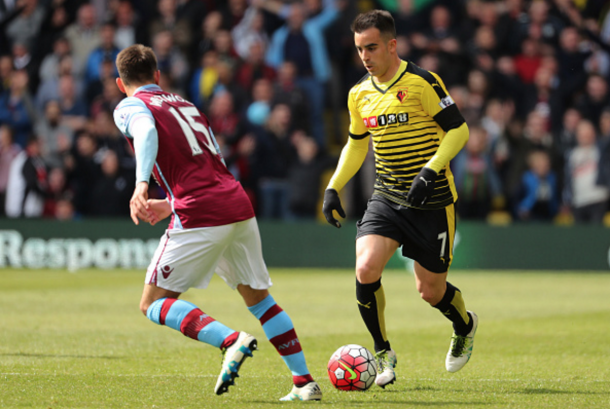 Jurado was a prominent figure in Watford's first eleven last season. (Picture: Getty Images)