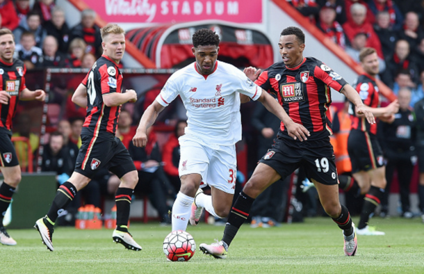 Ibe in action for Liverpool away at Bournemouth towards the end of last season. (Picture: Getty Images)