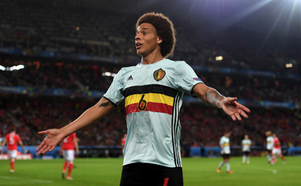 Witsel in action for Belgium at Euro 2016. (Picture: Getty Images)