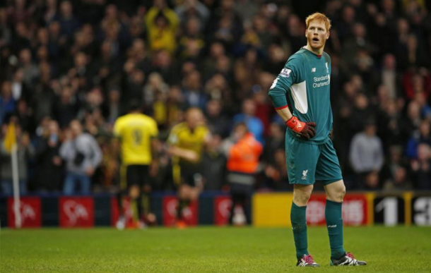 Bogdan's dire Watford display was the beginning of the end for his Liverpool career. (Picture: Getty Images)