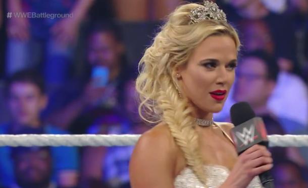 Lana looking flawless (image: WWE Network)
