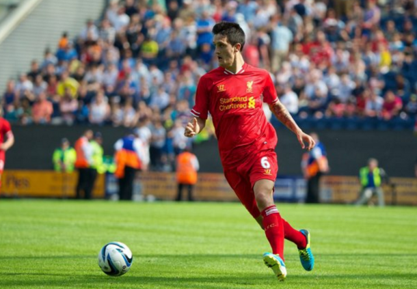 Alberto in action for the Reds in pre-season three years ago. (Picture: Getty Images)