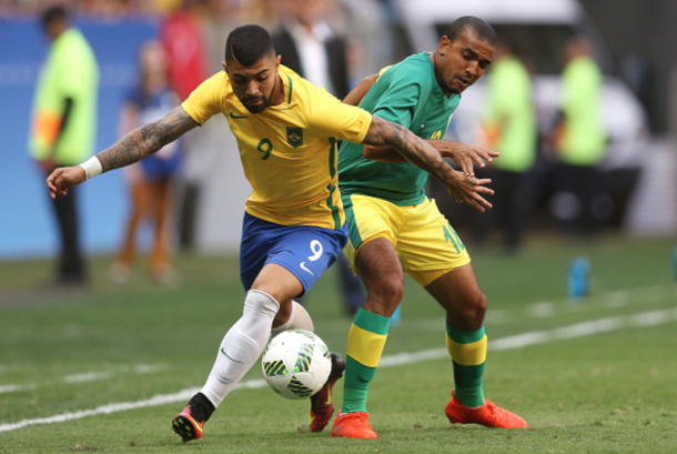 Gabriel Barbosa came close twice in succession after the break (Photo: Getty Images)