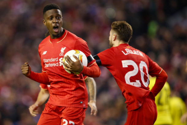 Could Origi be the man to spearhead the Reds' attack? (Picture: Sky Sports)