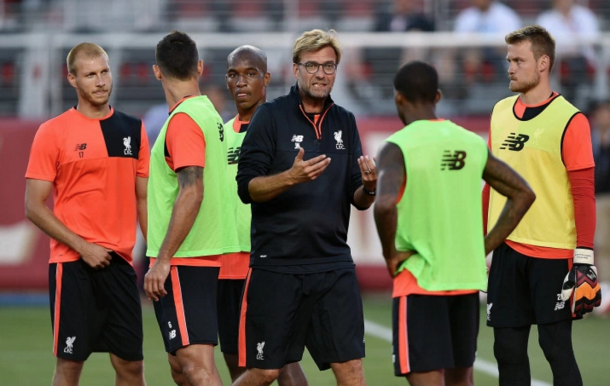 Klopp's mind is far from made up over his XI for the opening day at Arsenal. (Picture: Getty Images)
