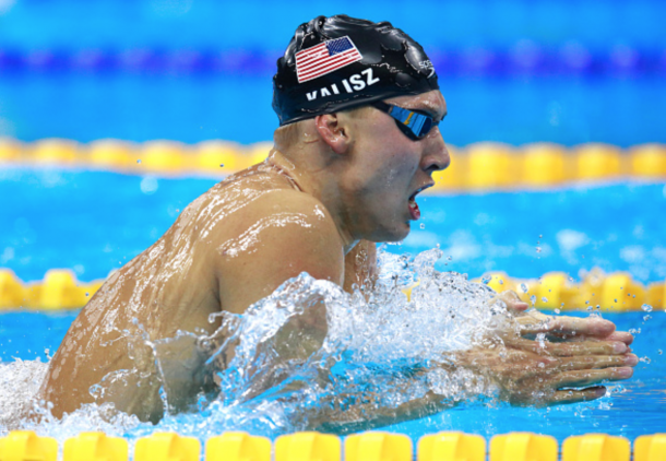 Kalisz in the breaststroke (Adam Pretty/Getty Images)