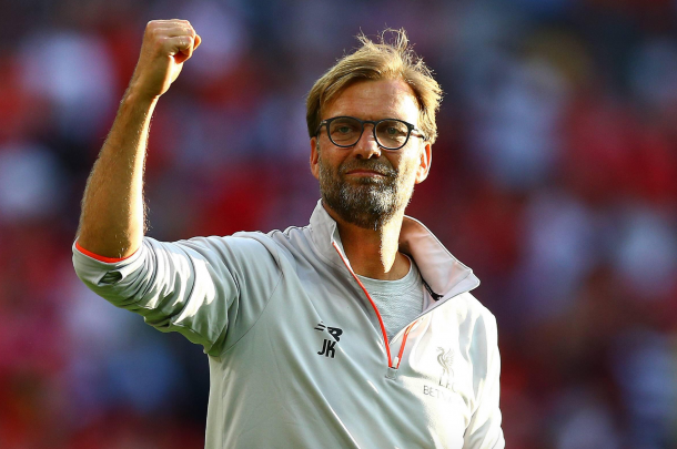 Much of the Liverpool support's optimism comes from having Klopp in charge. (Picture: Getty Images)