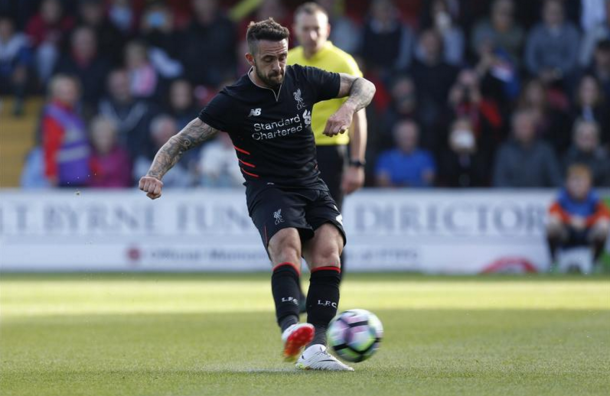 Ings in action in Liverpool's pre-season. (Picture: Getty Images)