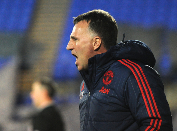 Peters coaching against Liverpool in last season's (Nick Taylor/Getty Imges)
