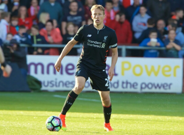 Lucas has been out since the Reds' clash with Huddersfield Town on July 20. (Picture: Getty Images)