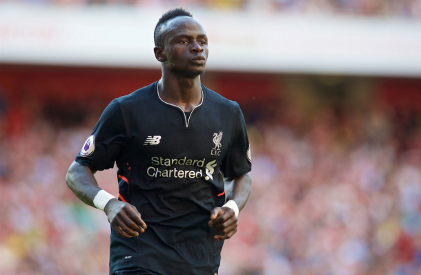Mane enjoyed a stellar competitive debut at Arsenal on Sunday. (Picture: This is Anfield)