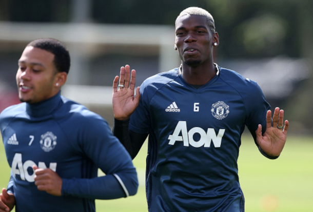 Pogba in training (Matthew Peters/Getty Images)