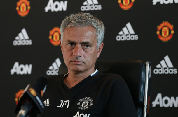 Mourinho during his pre-match press conference before their home opener - Southampton (John Peters/Getty Images)