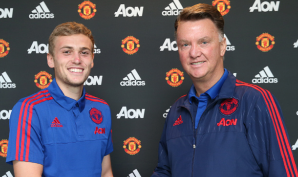 Wilson extended his contract under manager Louis van Gaal (John Peters/Getty Images)