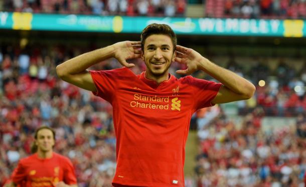 Grujic, who could start at the Pirelli, enjoyed a stellar pre-season with the Reds. (Picture: Getty Images)