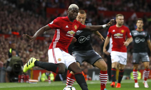 Vieira believes Pogba must be himself at United. Image courtesy of Getty Images.