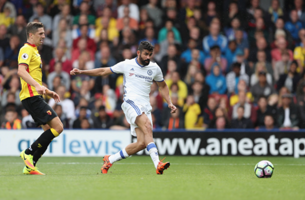 Costa's late strike handed the Blues victory (Photo: Christopher Lee/ Getty Images)