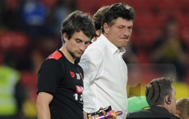 Mazzarri apologised to fans after the loss (Photo: Action Images)