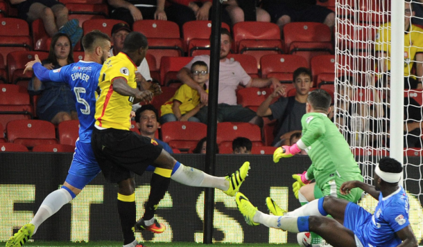 Odion Ighalo had put Watford ahead in the game (Photo: Action Images)