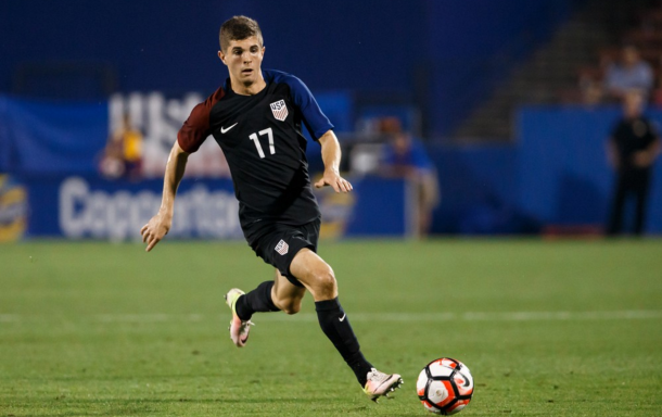 Pulisic appeared three times for the US national team at the Copa America this summer. (Picture: Getty Images)