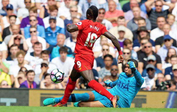 Mane was arguably Liverpool's Man of the Match with another lively display. (Picture: Getty Images)