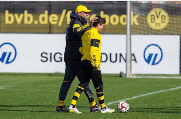 Pulisic joined Dortmund while Klopp was in charge. (Picture: Getty Images)