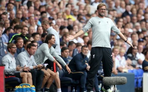 Klopp's frustrations showed on the sidelines. (Picture: Getty Images)
