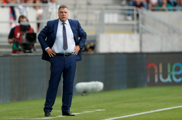 Allardyce watches on from the touchline. (Picture: Getty Images)