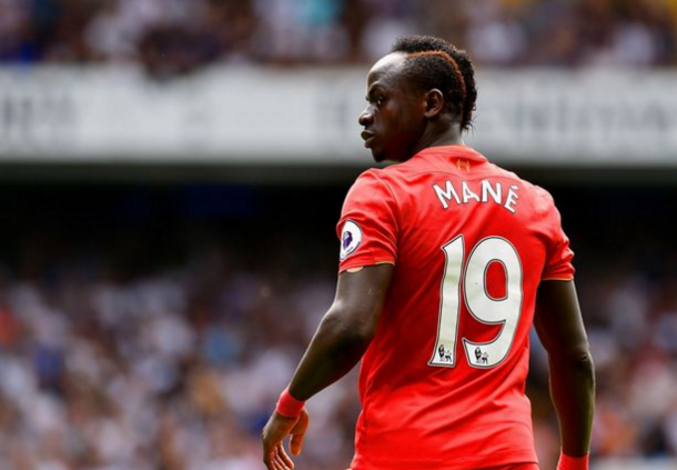 Mane in action at White Hart Lane last weekend. (Picture: Getty Images)