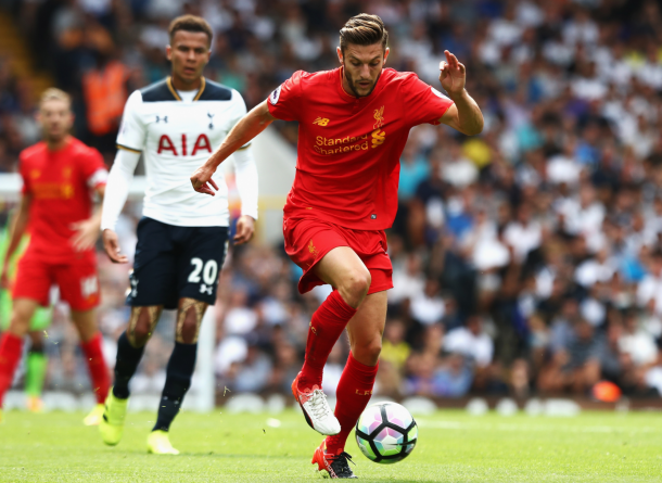 Lallana has been the most impressive of Liverpool's midfield three so far. (Picture: Getty Images)